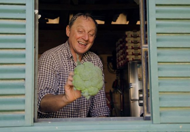 Ele largou o mundo corporativo para cultivar alimentos orgânicos