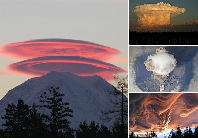 Se você enxerga figuras em nuvens, precisa conhecer essa série de fotos