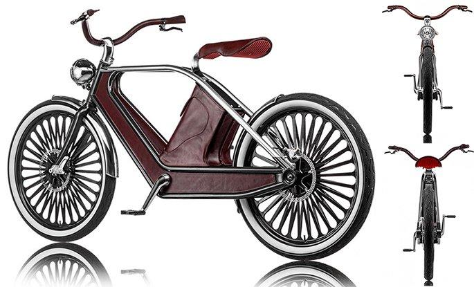 A bike elétrica vintage mais estilosa dos últimos tempos