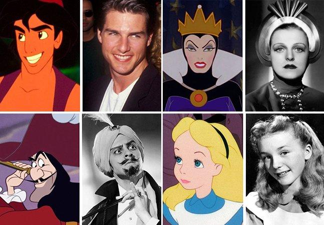 Conheça as pessoas que inspiraram personagens famosos da Disney