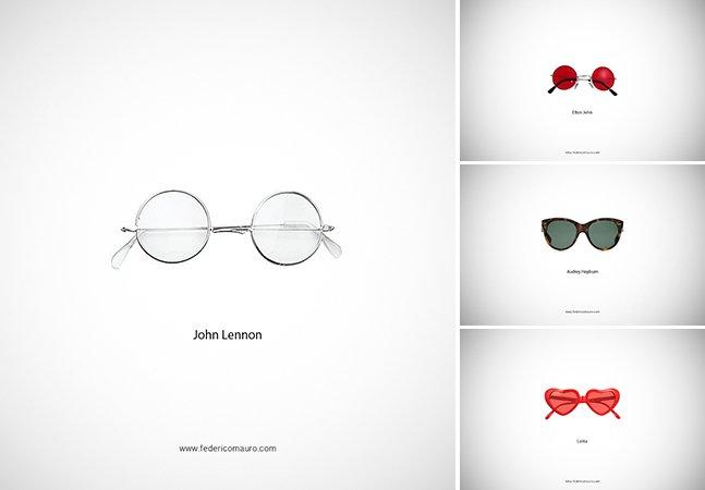 Reconheça os famosos donos dos óculos dessa série