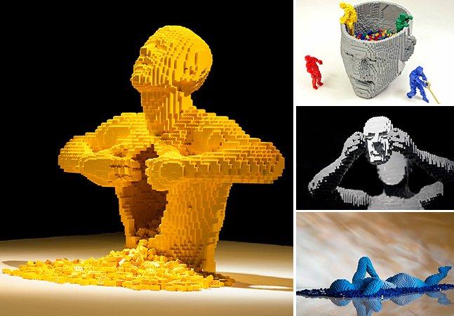 Peça a peça: as fantásticas esculturas feitas de LEGO de Nathan Sawaya