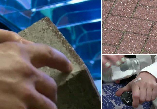 Cientistas inventam pavimento que absorve a poluição