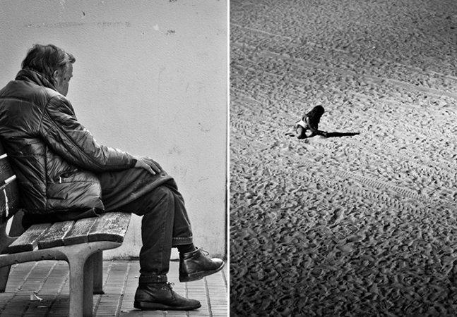 Fotógrafo retrata momentos de solidão em diferentes lugares do mundo