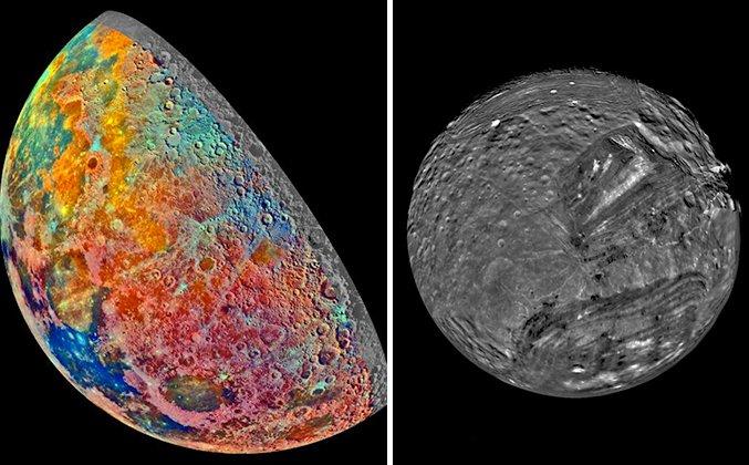 Diversos planetas e luas são fotografados pela primeira vez em exploração robótica