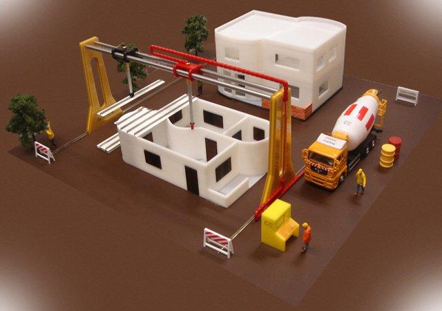 Professor cria máquina 3D capaz de imprimir casas em 20 horas