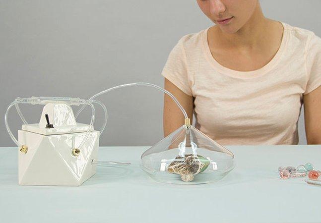 Conheça o gadget que captura e guarda cheiros