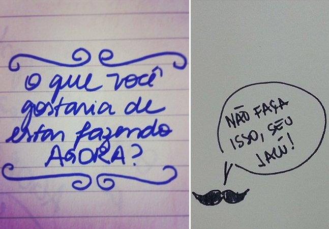Projeto mostra letra de diferentes pessoas e vira febre no instagram