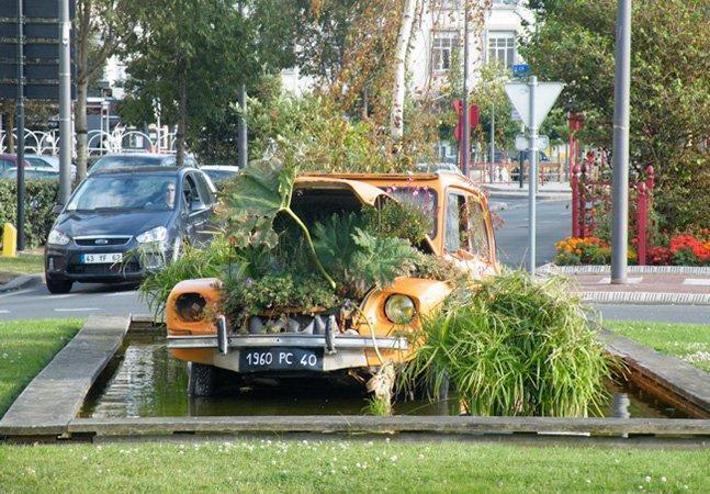 Cidade usa áreas livres pra criar hortas urbanas para a comunidade