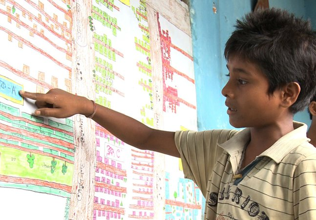 Crianças criam mapas de comunidade  que não vem no Google Maps