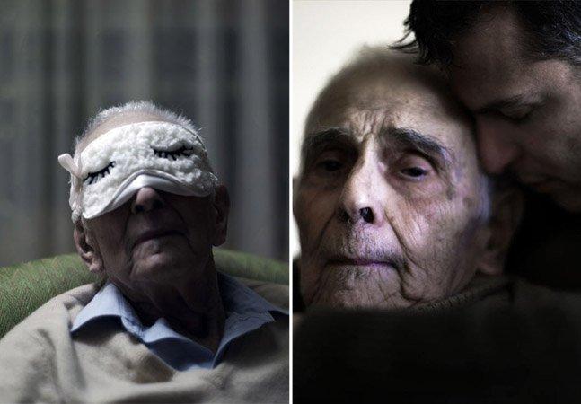 Fotógrafo registra os últimos anos do pai e o declínio de sua memória