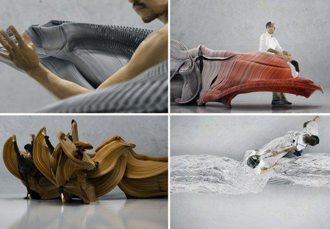 Vídeo transforma movimento do corpo humano em incríveis esculturas digitais