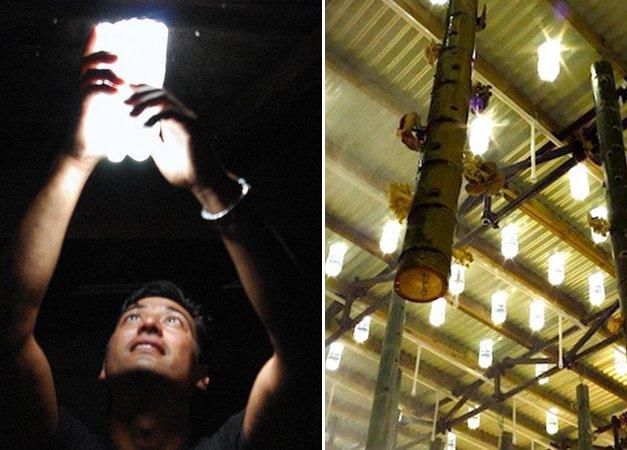 Brasileiro inventor de lâmpada feita com pet tem sua ideia espalhada pelo mundo