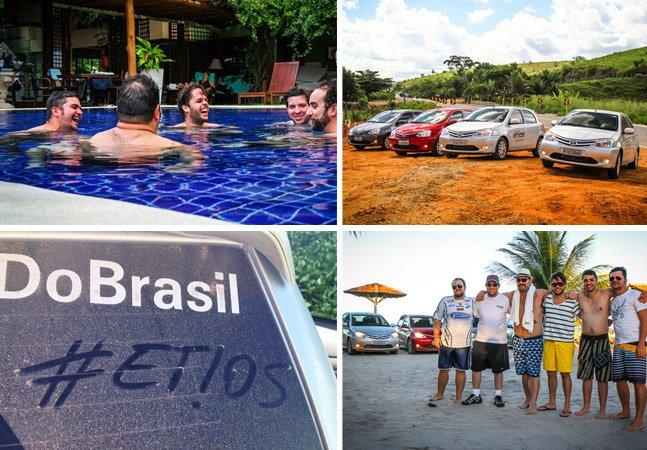 Nossa experiência por 10 dias, rodando 3mil km pelo litoral brasileiro num Etios