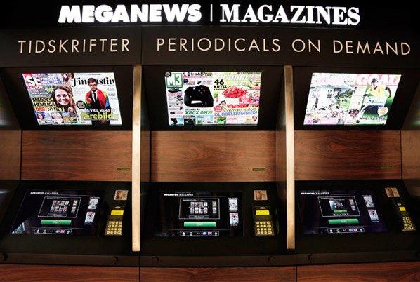 A primeira banca do mundo a imprimir jornais na hora pra evitar desperdício