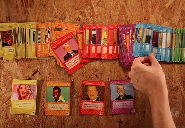 Jogo de cartas criativo mostra a dura realidade brasileira de um jeito divertido