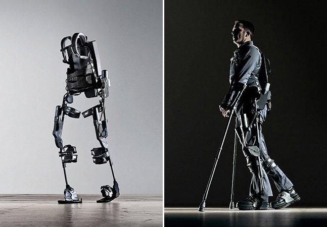 Empresa cria robô que permite que paraplégicos consigam andar