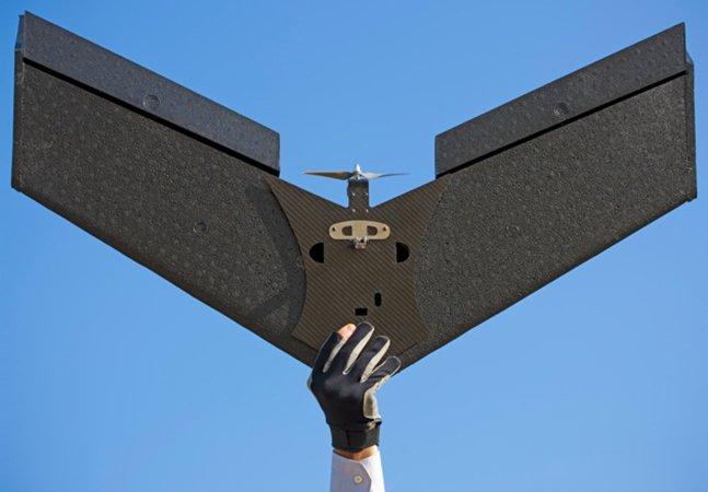 Drone para captar imagens aéreas e que volta sozinho para casa