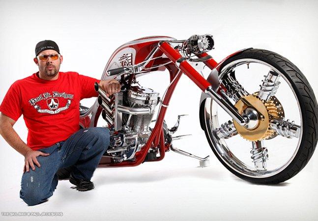 Conheça o trabalho do designer de motos mais famoso do mundo