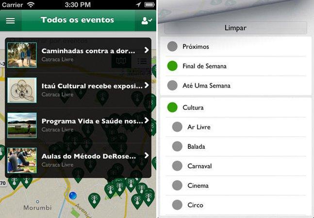 App mostra como se divertir sem pagar nada nas principais cidades do Brasil