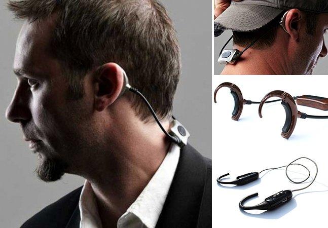 Fone de ouvido inovador permite ouvir música e interagir com as pessoas ao mesmo tempo