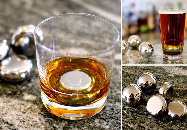 Inovação permite gelar sua cerveja e whisky sem deixá-los aguados