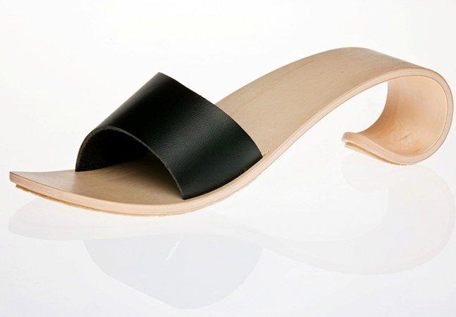 Designer cria sapato com salto alto inovador