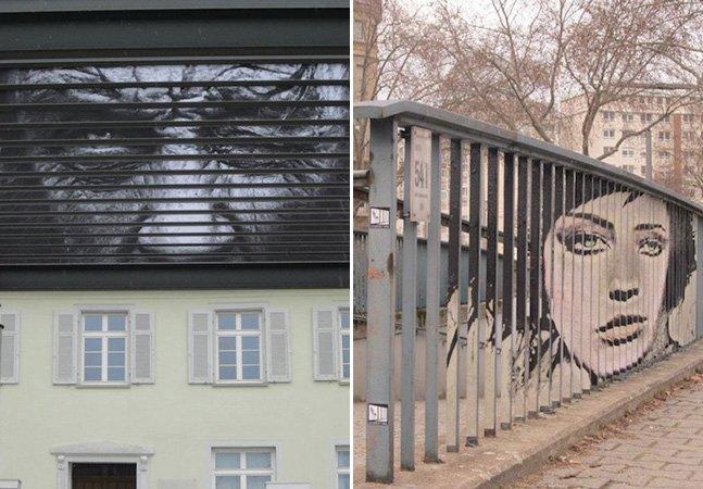 Grafiteiros criam artes escondidas que só os mais atentos enxergam