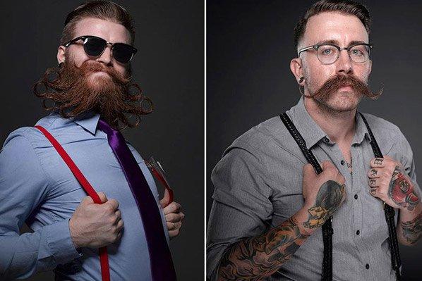 Série de fotos mostra as barbas mais excêntricas que você já viu