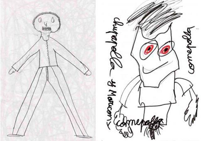 Série mostra desenhos de crianças retratando os abusos que sofreram