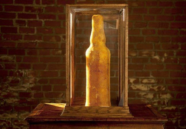 Impressão 3D natural: essa escultura foi feita inteiramente por abelhas