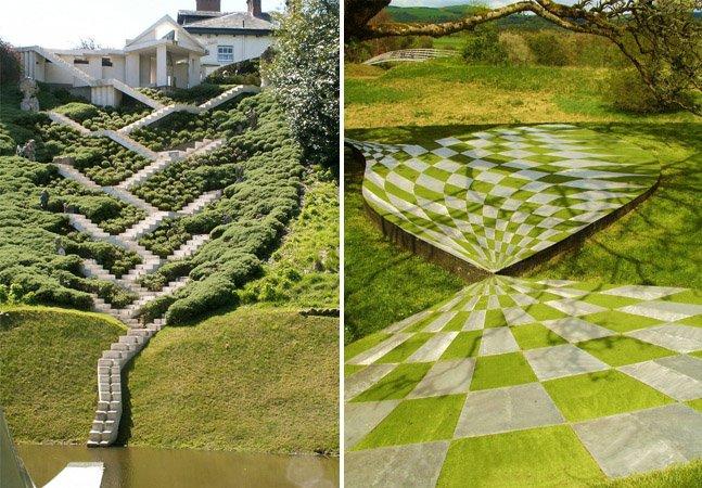 Paisagista cria jardins que contam a história do Universo