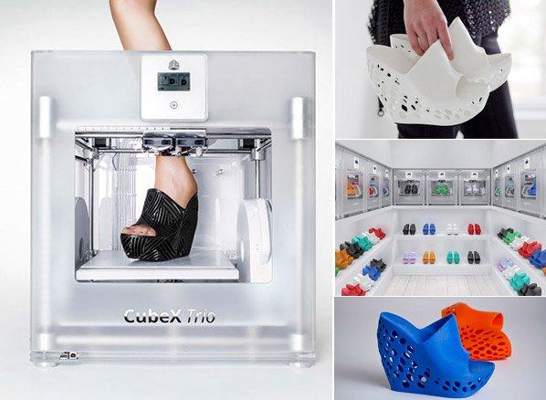 Designer cria sapatos pras pessoas baixarem de graça e imprimir em casa