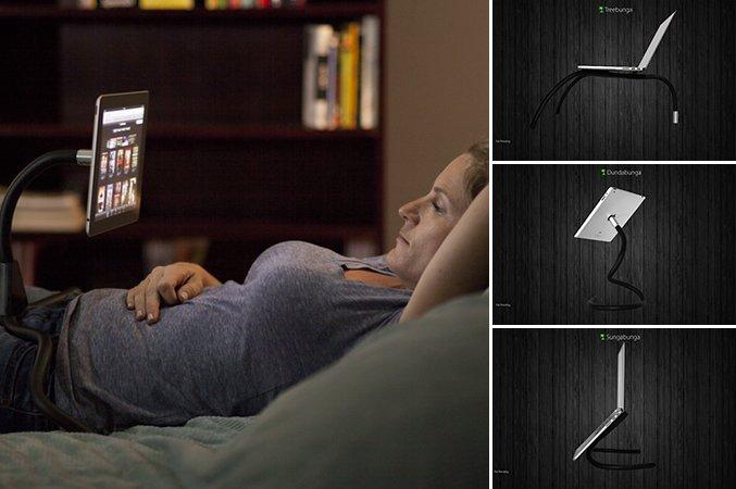 O suporte para gadgets mais versátil de todos os tempos