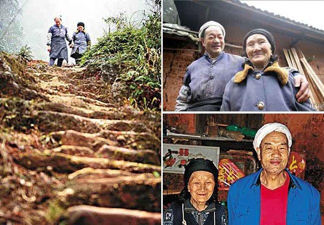 O homem que passou 50 anos construindo uma escada pra sua mulher