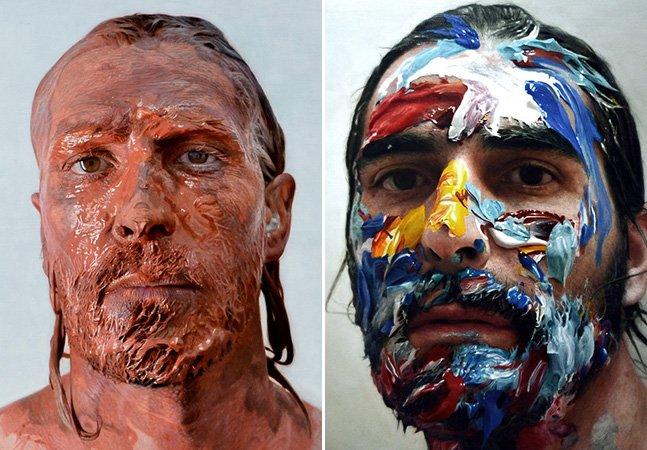 Você não vai acreditar que esses auto-retratos não são fotografias