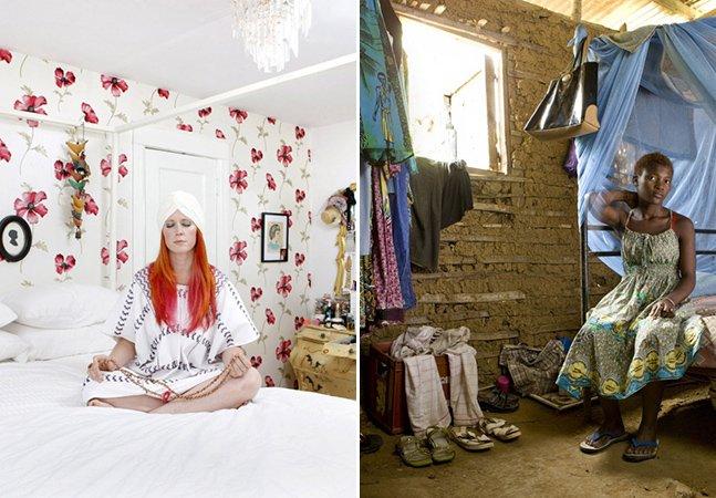 Série mostra diferenças culturais através de quartos de mulheres pelo mundo