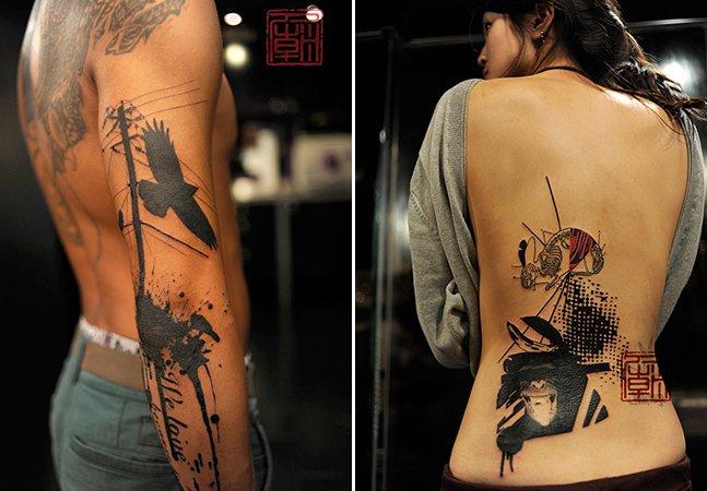 Arte na pele: a tatuagem marcante do artista Jamie Kam