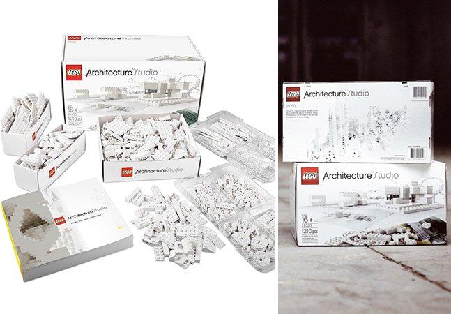 LEGO lança kit para jovens e adultos brincarem de arquitetos