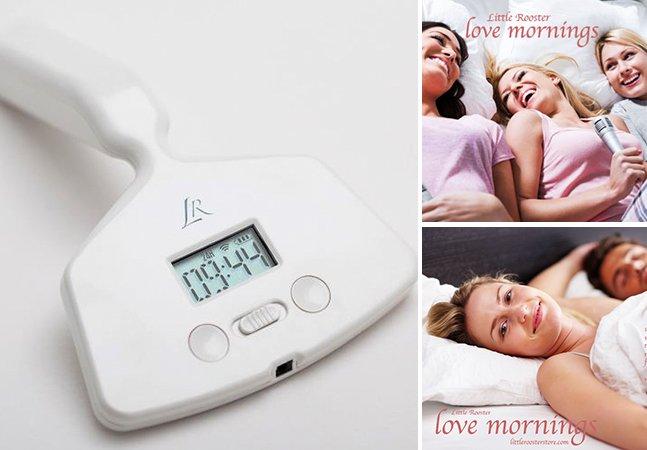 Conheça o despertador vibrador que promete fazer a alegria das mulheres