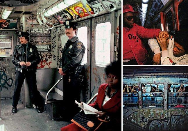 Série de fotos impressionante mostra a Nova York dos anos 70 e 80