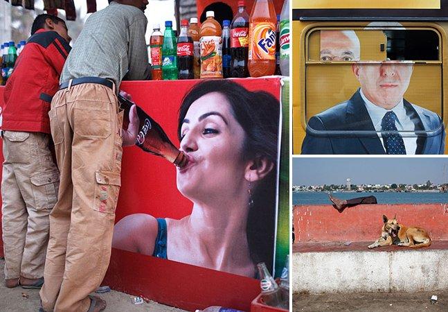 Fotógrafo sai pelas ruas captando coincidências improváveis