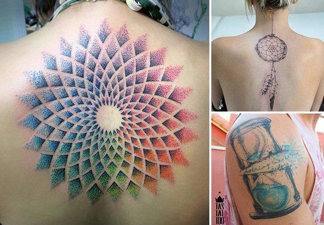 Arte na pele – conheça a tatuagem em aquarela e pontilhismo desse brasileiro