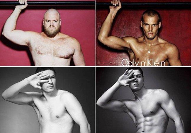 E se homens comuns fizessem as campanhas publicitárias de cuecas?