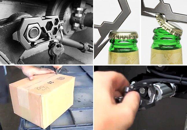 Ferramenta inovadora substitui toda a sua caixa de ferramentas