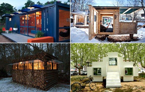 10 exemplos que provam que morar numa casa pequena pode ser incrível