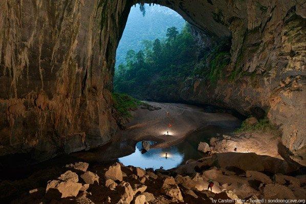 Fantásticas fotos da recém-descoberta maior caverna do mundo
