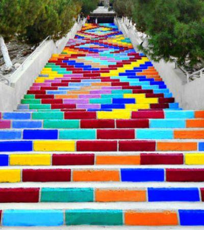 Seleção Hypeness: Escadas criativas ao redor do mundo