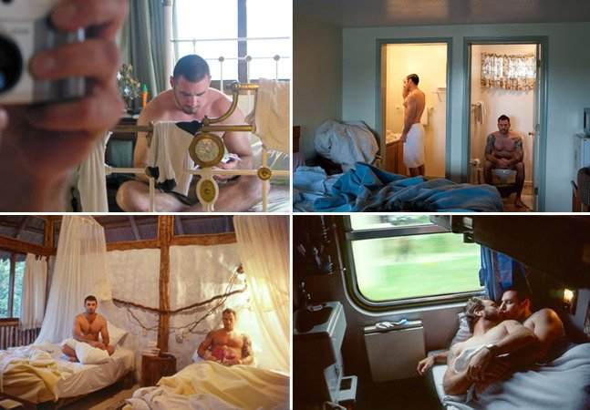 Casal fotografa momentos íntimos em quartos de hotéis pelo mundo