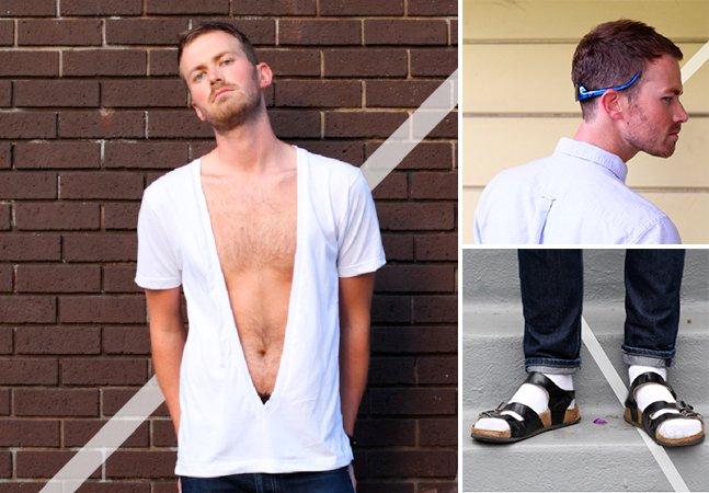 Designer cria manual de moda divertido para homens